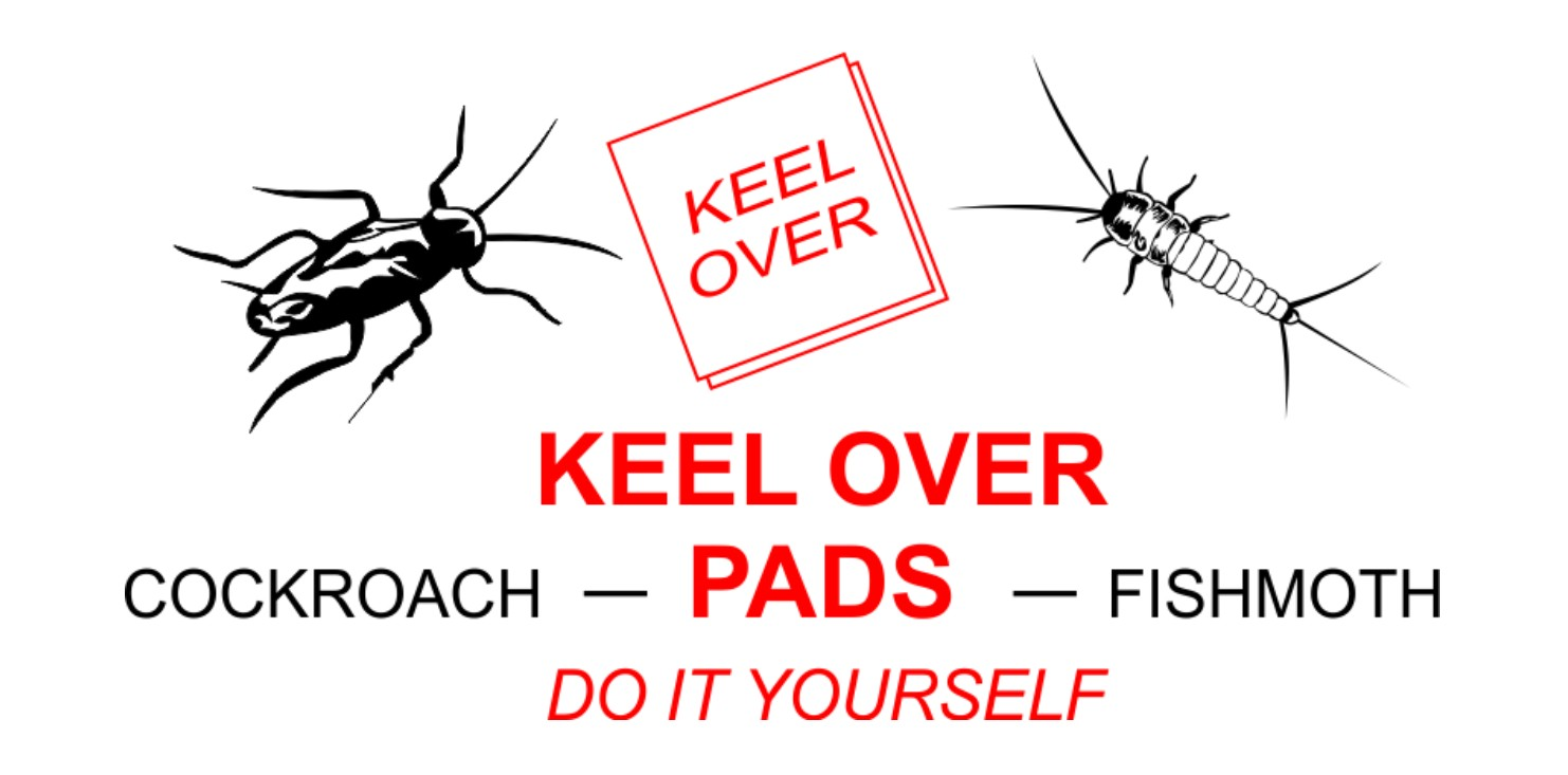 Keel Over   Cockroach & Fishmoth Pest Control Solution